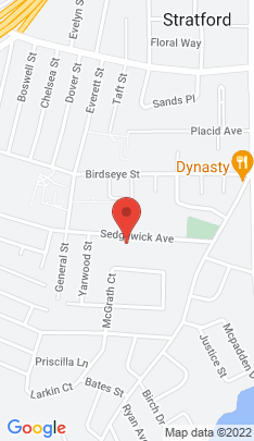 Map of Multi Family Home on 560 Sedgewick Avenue,Stratford, CT