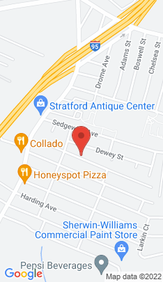 Map of Single Family Home on 172 Roosevelt Avenue,Stratford, CT