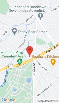 Map of Condo Home on 25 Cartright Street,Bridgeport, CT