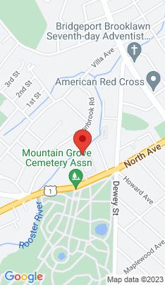 Map of Condo Home on 2612 North Avenue,Bridgeport, CT