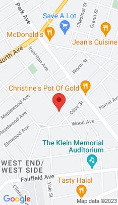 Map of Multi Family Home on 82 Benham Avenue,Bridgeport, CT