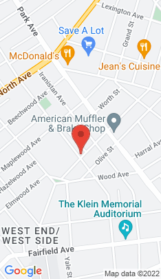 Map of Multi Family Home on 107 09 Benham Avenue,Bridgeport, CT