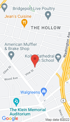Map of Multi Family Home on 119 Vine Street,Bridgeport, CT