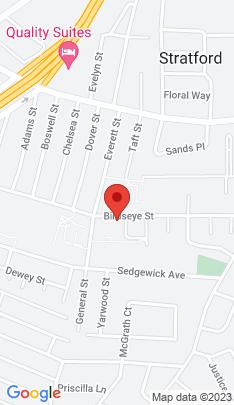 Map of Single Family Home on 553 Birdseye Street,Stratford, CT