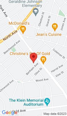 Map of Multi Family Home on 1418 Iranistan Avenue,Bridgeport, CT