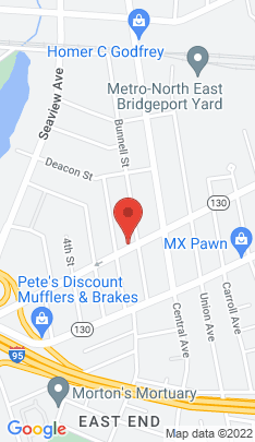 Map of Multi Family Home on 525 Connecticut Avenue,Bridgeport, CT