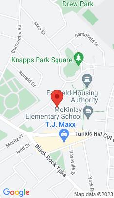 Map of Single Family Home on 156 Fieldcrest Road,Fairfield, CT