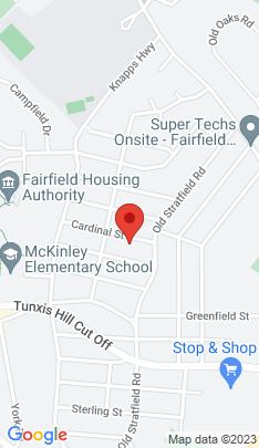 Map of Single Family Home on 47 Cardinal Street,Fairfield, CT