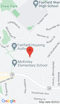 Map of single family home on 165 Cardinal Street,Fairfield, CT