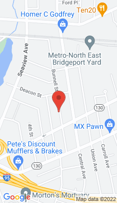 Map of Multi Family Home on 193 Bunnell Street,Bridgeport, CT