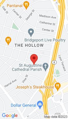Map of Multi Family Home on 118 Pequonnock Street,Bridgeport, CT