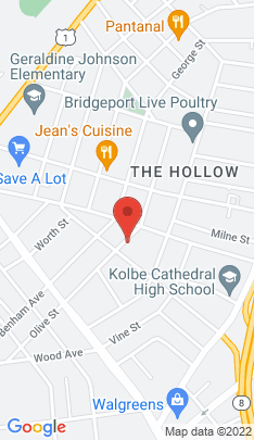 Map of Multi Family Home on 370 Olive Street,Bridgeport, CT