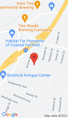 Map of Multi Family Home on 188 Adams Street,Stratford, CT
