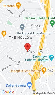 Map of Single Family Home on 89 Milne Street,Bridgeport, CT