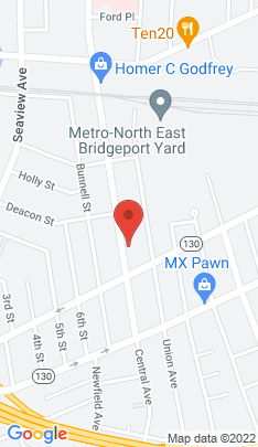 Map of Multi Family Home on 1014 Central Avenue,Bridgeport, CT
