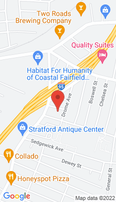 Map of Single Family Home on 47 Anderson Street,Stratford, CT