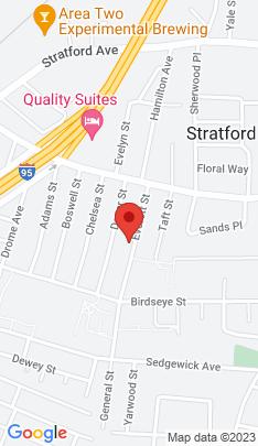 Map of Multi Family Home on 126 Everett Street,Stratford, CT