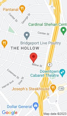 Map of Multi Family Home on 92 Milne Street,Bridgeport, CT