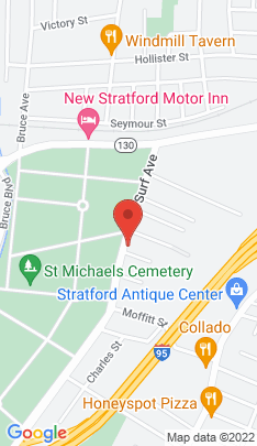 Map of Multi Family Home on 790 Surf Avenue,Stratford, CT