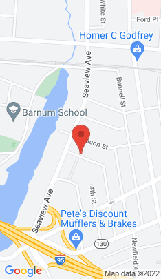 Map of Multi Family Home on 338 5th Street,Bridgeport, CT