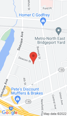 Map of Multi Family Home on 269 6th Street,Bridgeport, CT
