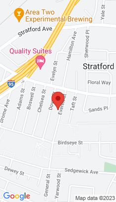 Map of Single Family Home on 94 Everett Street,Stratford, CT