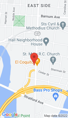 Map of Multi Family Home on 503 Main Street,Bridgeport, CT