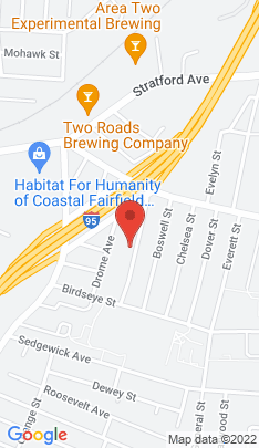 Map of Multi Family Home on 122 Adams Street,Stratford, CT