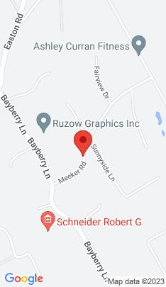 Map of Single Family Home on 11 Meeker Road,Westport, CT