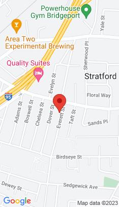Map of Single Family Home on 48 Everett Street,Stratford, CT