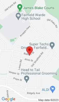 Map of Single Family Home on 150 Bullard Street,Fairfield, CT