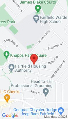 Map of Single Family Home on 184 Alvin Street,Fairfield, CT