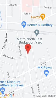 Map of Multi Family Home on 1110 Central Avenue,Bridgeport, CT