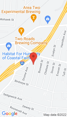 Map of Multi Family Home on 76 Adams Street,Stratford, CT