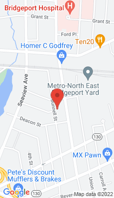 Map of Multi Family Home on 346-348 Bunnell Street,Bridgeport, CT