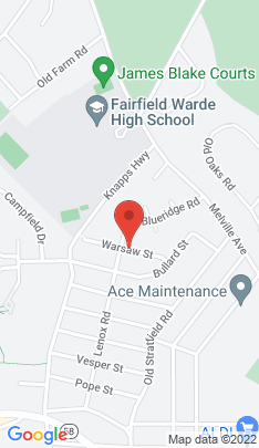 Map of Single Family Home on 116 Warsaw Street,Fairfield, CT
