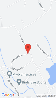 Map of Single Family Home on 103 Cavalry Road,Westport, CT