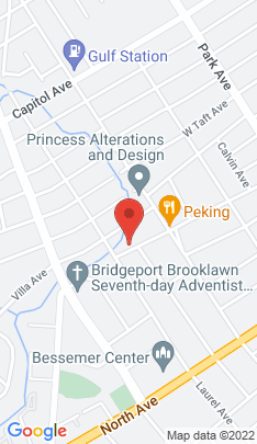 Map of Single Family Home on 360 Wade Street,Bridgeport, CT
