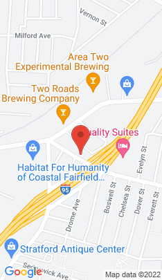 Map of Multi Family Home on 1606 South Avenue,Stratford, CT