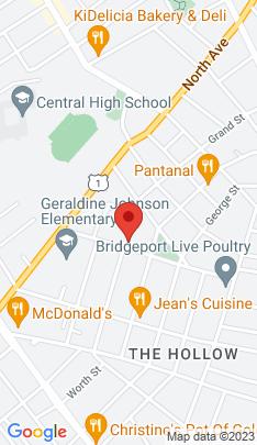 Map of Multi Family Home on 793 Grand Street,Bridgeport, CT