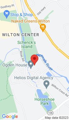 Map of condominium home on 74 Glen View,Wilton, CT