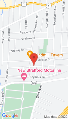 Map of Multi Family Home on 328 Jackson Avenue,Stratford, CT