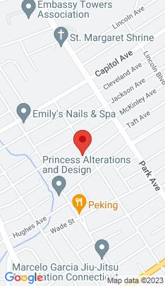 Map of Single Family Home on 616 Taft Avenue,Bridgeport, CT