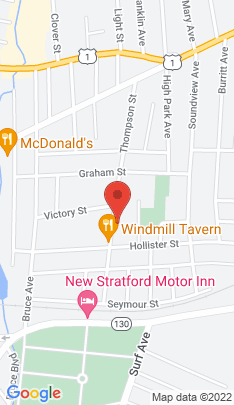 Map of Multi Family Home on 190 Thompson Street,Stratford, CT