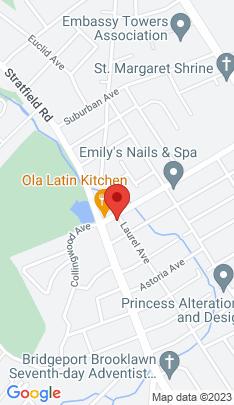 Map of Single Family Home on 1550 Laurel Avenue,Bridgeport, CT