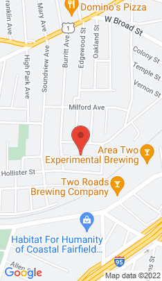 Map of Single Family Home on 107 Mohawk Street,Stratford, CT