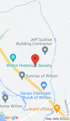 Map of Single Family Home on 22 Sharp Hill Road,Wilton, CT