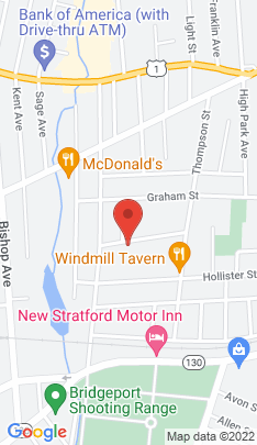 Map of Single Family Home on 112 Victory Street,Stratford, CT