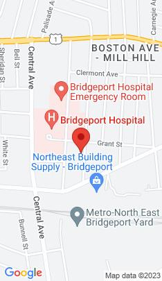 Map of Single Family Home on 95 Ridgefield Avenue,Bridgeport, CT