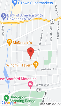 Map of Single Family Home on 197 Victory Street,Stratford, CT
